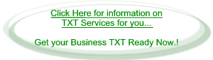 Get your Business TXT Ready with our TXT Services